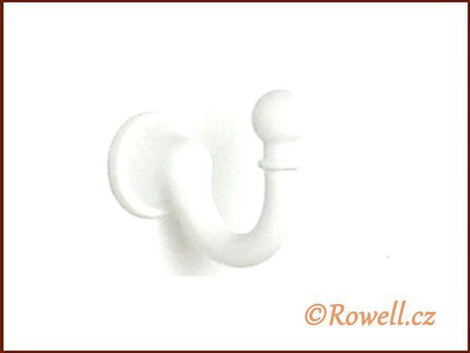 H1a Háček s vrutem/ bílá rowell