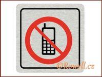 CPP  'Zákaz telefon '  /nerez/