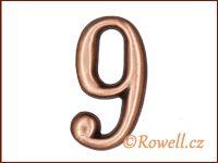 C2    Čísélko staroměď '9'