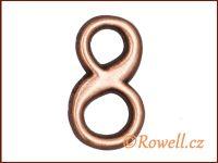 C2    Čísélko staroměď '8'