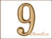 C2    Čísélko zlaté '9'