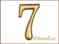 C2    Čísélko zlaté '7'