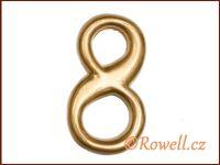 C2    Čísélko zlaté '8'