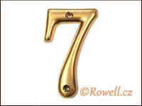 C2s   Čísélko zlaté  '7'