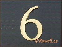C5    Čísélko zlaté  '6'