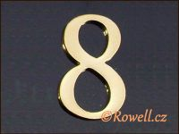 C5    Čísélko zlaté  '8'