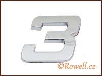 C26 Číslice 26mm   '3'