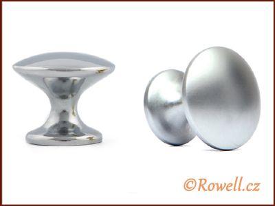 K30 Knopka 30mm - stříbrná rowell