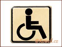 NO cedulka zlatá  'Invalida' / DOPRODEJ