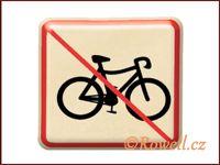 NZ 'Zákaz kolo' /zlatá/ / DOPRODEJ