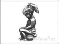 ST5   WC panenka starostříbro