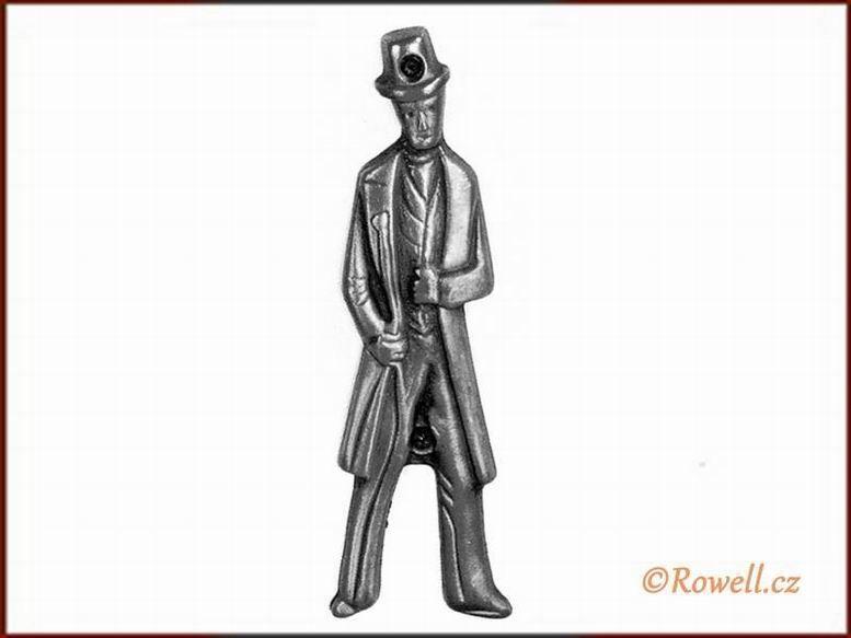 ST2 WC štítek muži-starostříbro rowell