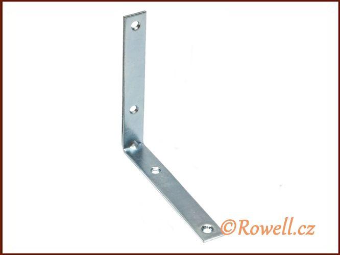 UH100 Úhelník 100 mm pozink rowell