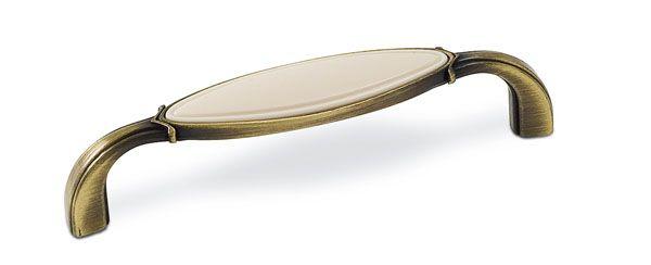 14018 - úchytka 96mm staromosaz 12