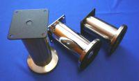 64145 - Nožka průměr 50x150mm Ni-broušený A098 (64
